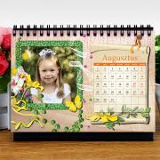 Egyedi fényképes asztali naptárak normál méretben