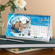 Egyedi fényképes asztali naptárak széles méretben