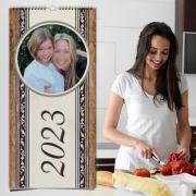 Egyedi fényképes konyhai naptárak