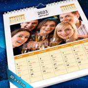 A3 méretű egyedi fényképes naptárak