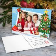 Egyedi karácsonyi képeslapok