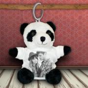 Plüss kulcstartó - Panda