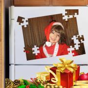 Egyedi fényképes hűtőmágnes puzzle - A4 méretben