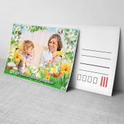 Egyedi fényképes húsvéti képeslap 15.
