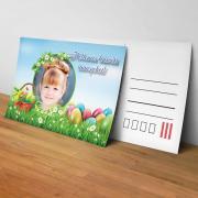 Egyedi fényképes húsvéti képeslap 17.