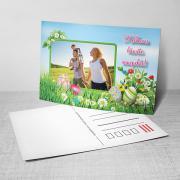 Egyedi fényképes húsvéti képeslap 18.