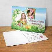 Egyedi fényképes húsvéti képeslap 20.