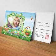 Egyedi fényképes húsvéti képeslap 21.