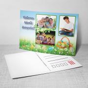 Egyedi fényképes húsvéti képeslap 22.