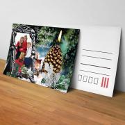 Egyedi fényképes karácsonyi képeslap 13.