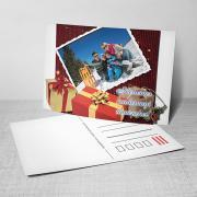 Egyedi fényképes karácsonyi képeslap 14.