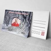 Egyedi fényképes karácsonyi képeslap 15.