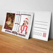 Egyedi fényképes karácsonyi képeslap 17.