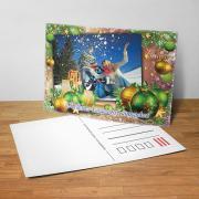 Egyedi fényképes karácsonyi képeslap 2.