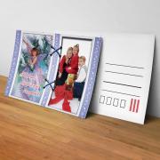 Egyedi fényképes karácsonyi képeslap 20.