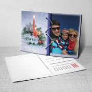 Egyedi fényképes karácsonyi képeslap 21.