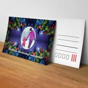 Egyedi fényképes karácsonyi képeslap 8.
