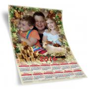 Egyedi fényképes éves naptár 24.