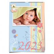 Gyerek egyedi fényképes fali naptár - A4 méretben