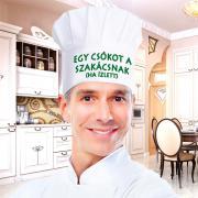 Vicces szakácssapka - Egy csókot a szakácsnak