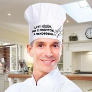 Vicces szakácssapka - Ilyet főzök, ha ti vagytok a vendégeim