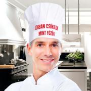 Vicces szakácssapka - Jobban csókolok, mint főzök