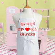 Vicces gyerek kötény - Kisunoka