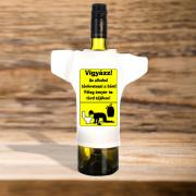 Az alkohol veszélyei üvegpóló